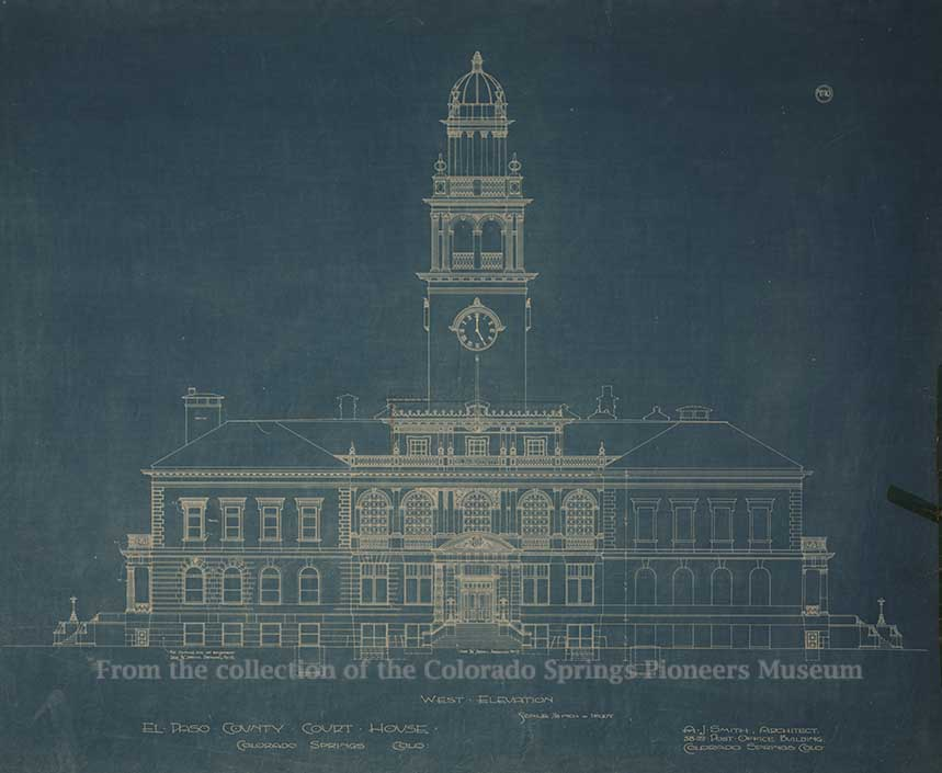 Map and blueprint collections colorado springs pioneers museum blueprints malvernweather Choice Image