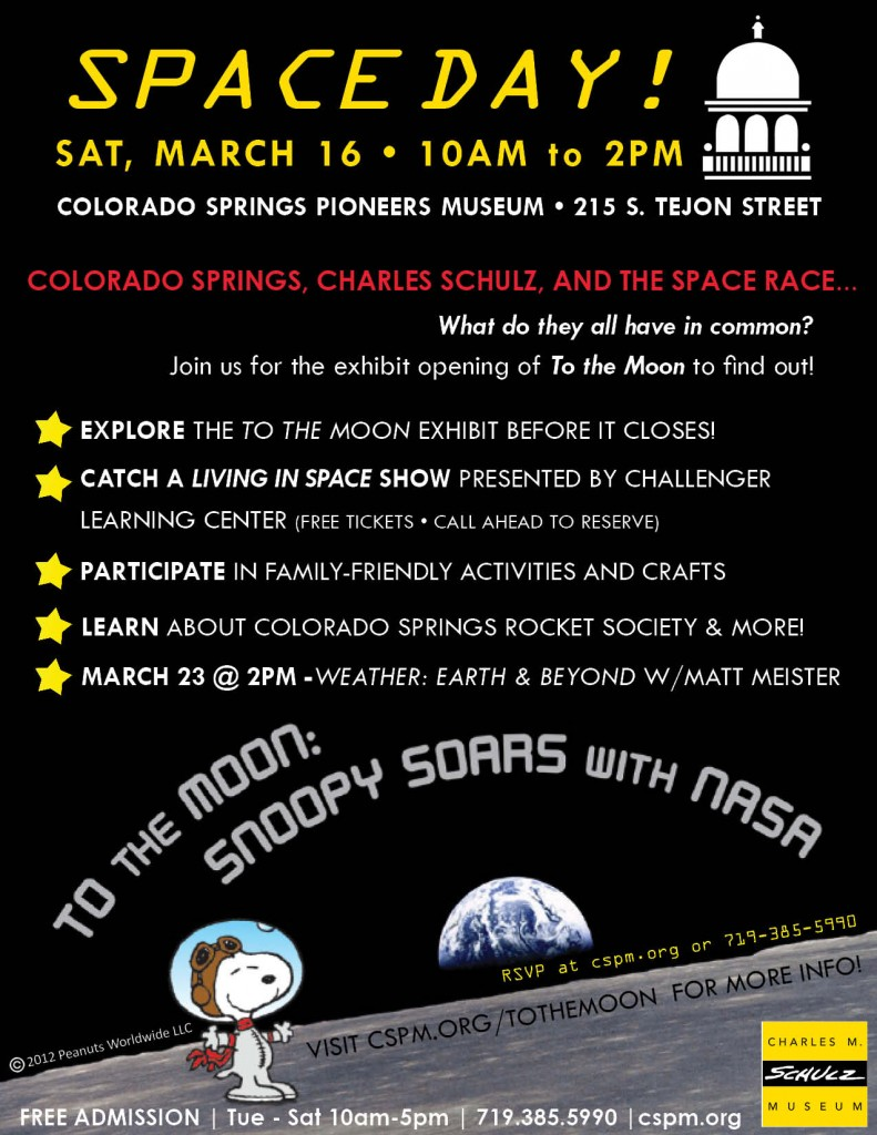 Space Day Flyer