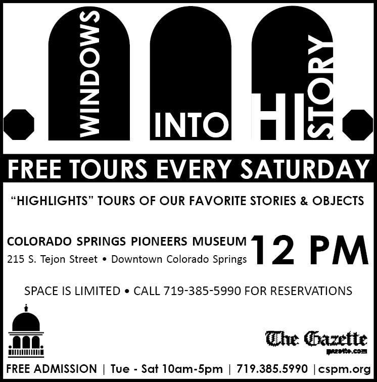 Windows Into History Tour @ Colorado Springs Pioneers Museum | Colorado Springs | Colorado | United States