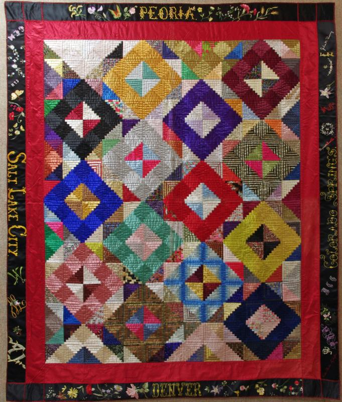Needle Pulling Thread quilt