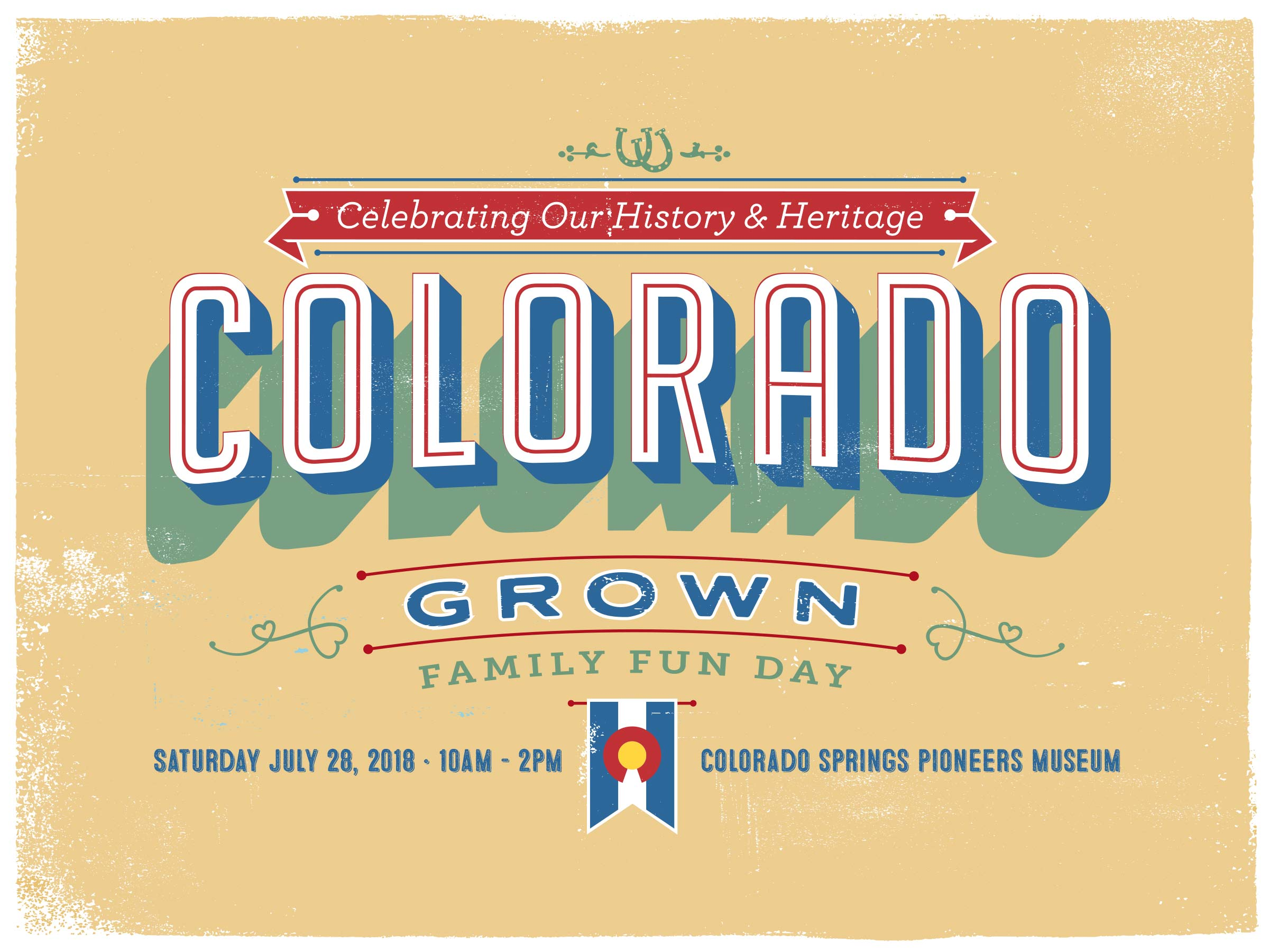 Colorado grown family fun day 2018 colorado springs pioneers museum celebrate colorados 142nd birthday and discover local history and heritage through tours activity booths hands on history stations local history malvernweather Choice Image