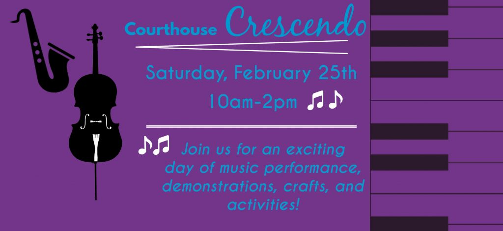 Courthouse Crescendo: Music Family Fun Day @ Colorado Springs Pioneers Museum | Colorado Springs | Colorado | United States
