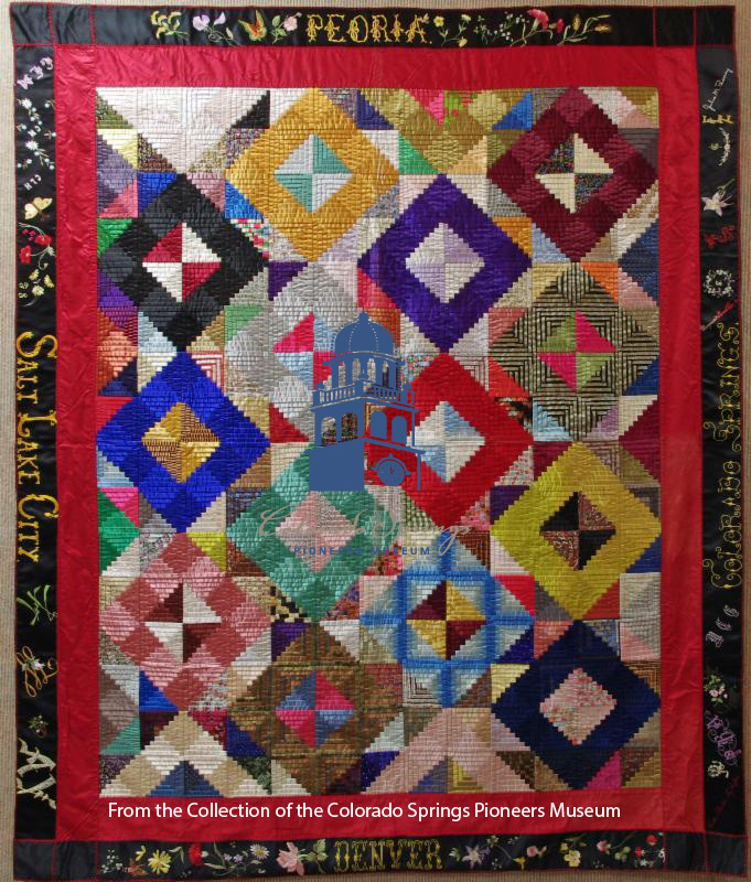 Weekend Warm-Up: Quilt Your Story @ Colorado Springs Pioneers Museum   Colorado Springs   Colorado   United States