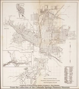 Colorado Springs Pioneers Museum » Map and Blueprint Collections