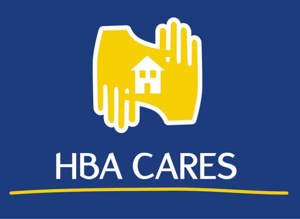 HBA Cares logo