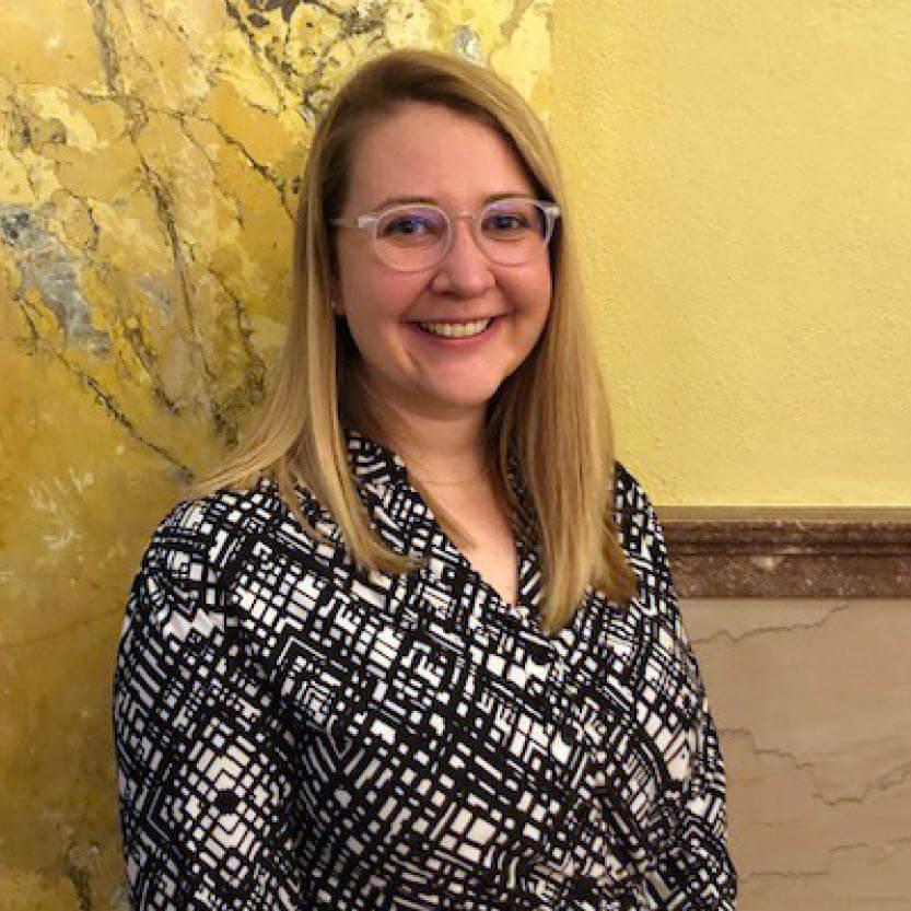 Portrait Photo of Programs Coordinator, Meg Poole.