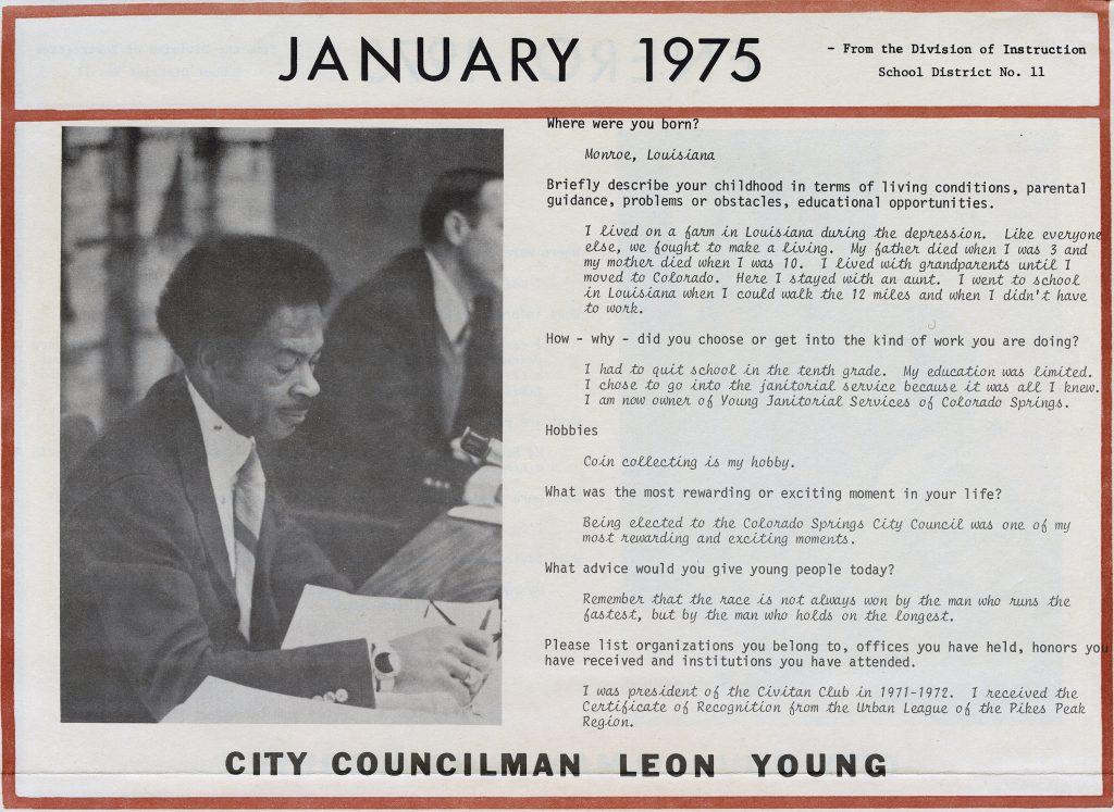 Leon Young Calendar