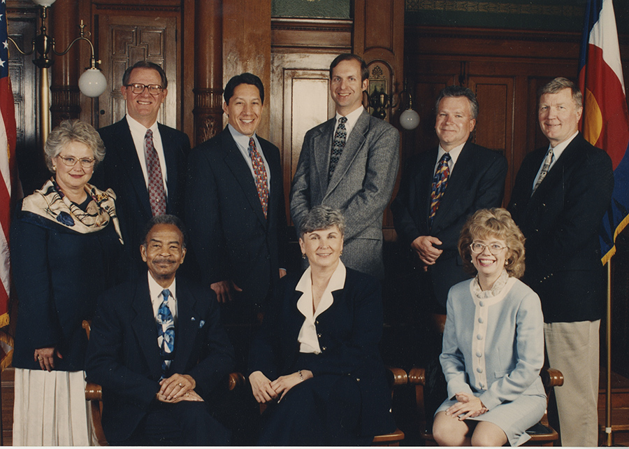 Photo of City Council from 1997