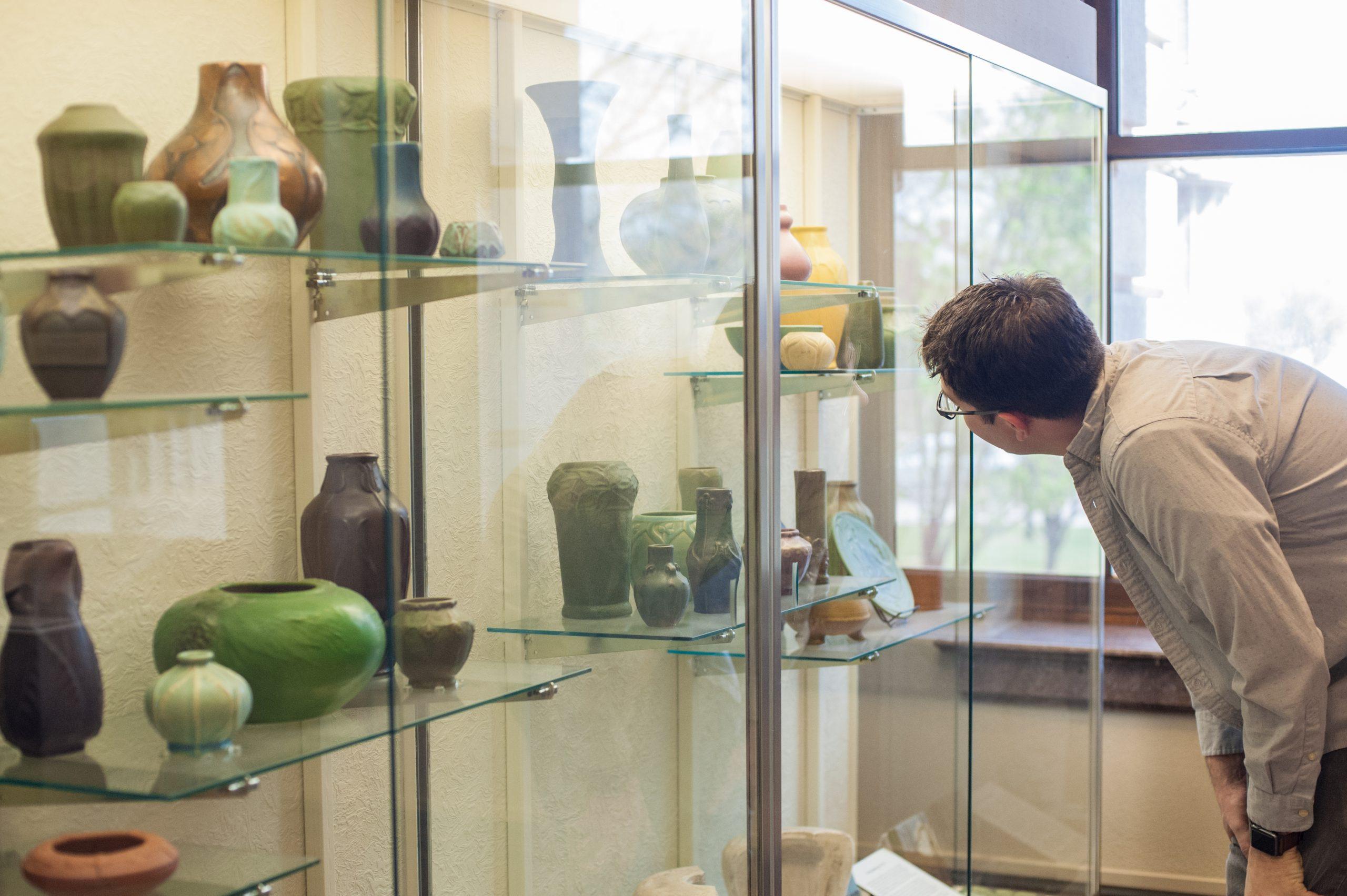 Van Briggle Pottery Showcase_Pioneers Museum-2834