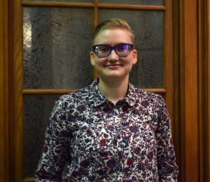 Headshot of Staff Member, Gabrielle Friesen