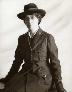 Florence Standish in US Army Uniform. ca. 1918