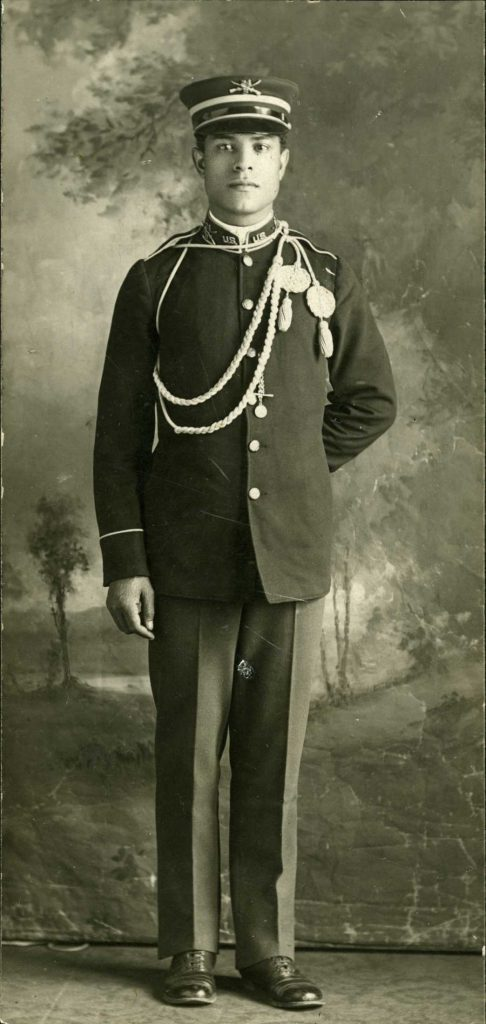 Photo of Charles Banks during the Spanish American War