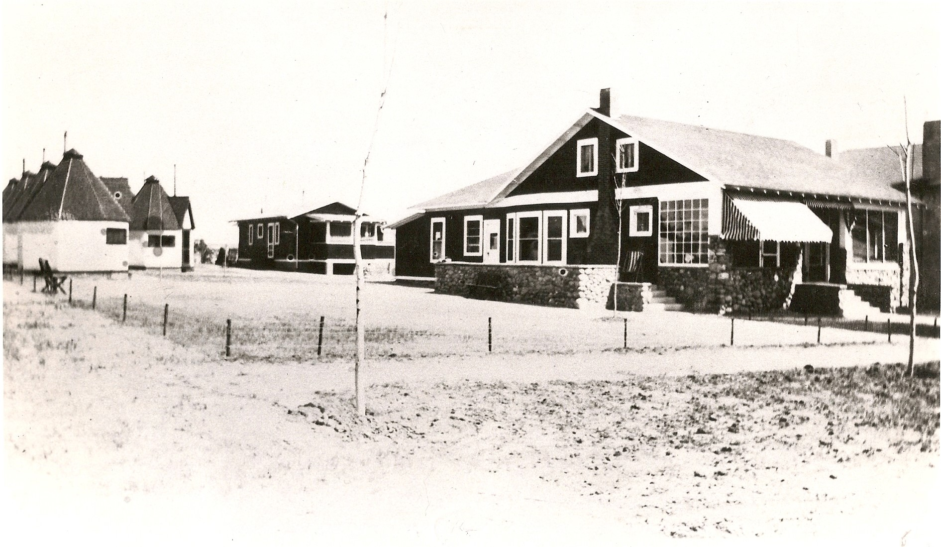 Nob Hill Lodge was located at 319 North Logan Street. ca. 1912-1925. Photo from the CSPM Collection.
