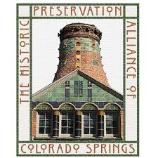 Logo for the Historic Preservation Alliance of Colorado Springs