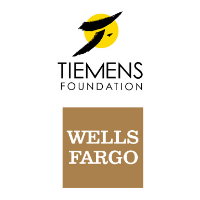 Logo for Tiemens Foundation and Wells Fargo