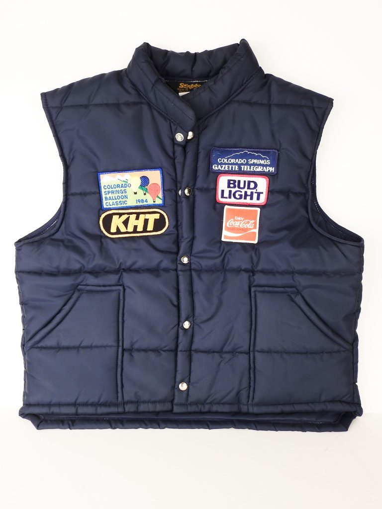 Balloon Classic Vest, 1984. Generously Donated by Edith Kramer, 2002.223.4