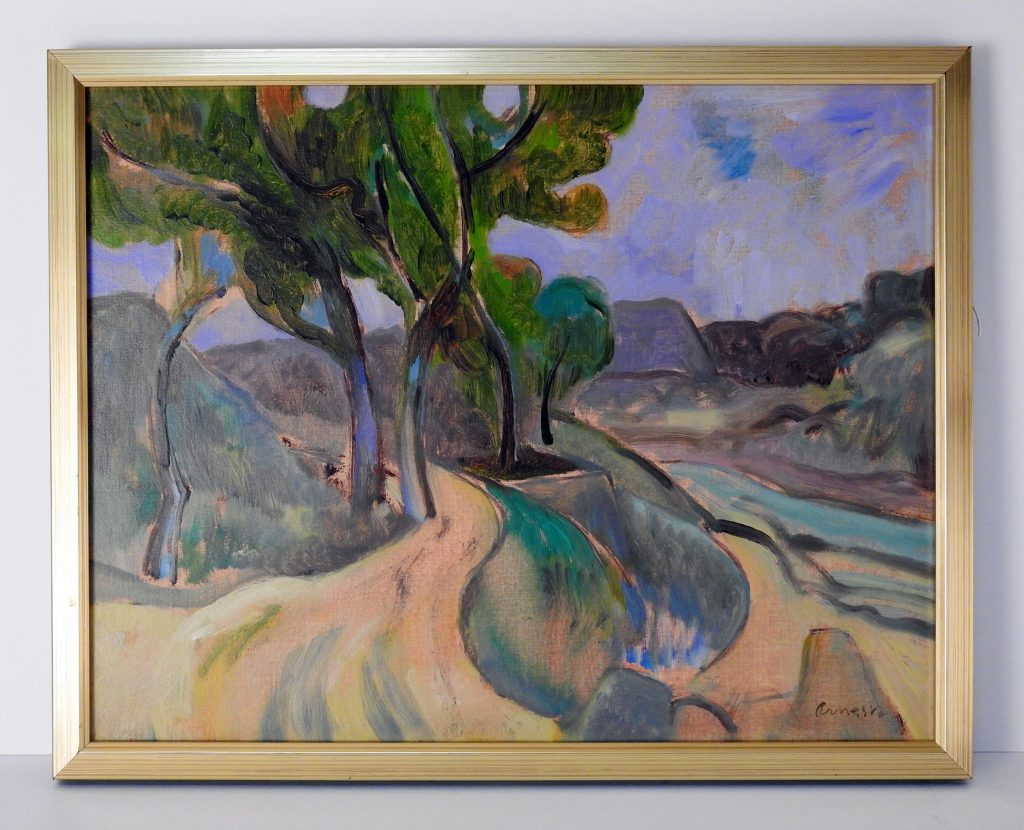 Monument Valley Park, Oil on Canvas by Bernard Arnest, ca. 1981. Generously Donated by the children of Barbara Arnest, 2017.80.3.