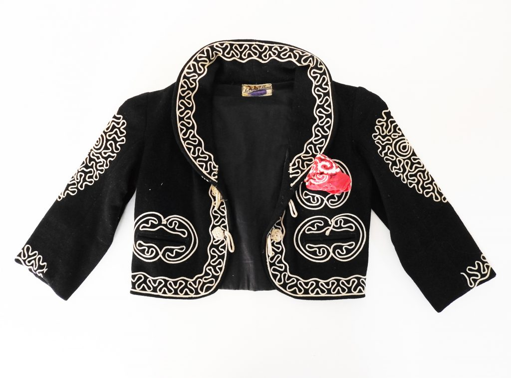 Charro Jacket and Sombrero, 1958-1959. Generously donated by Victor and Josephine Ornelas, 2020.26.1