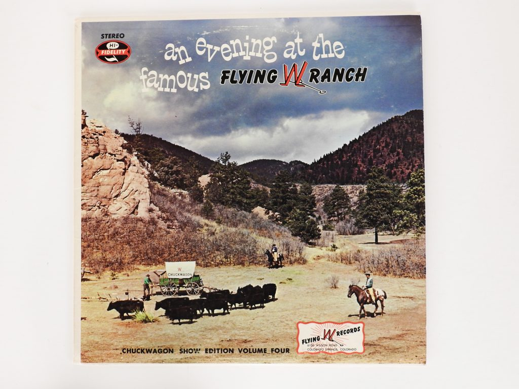 An Evening at the Famous Flying W Ranch, 1972. CSPM Collection, 2020.70.10.