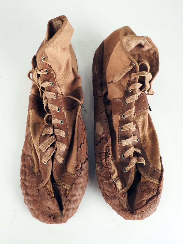 1930s Athletic Shoes. CSPM Collection, 2020.70.8.