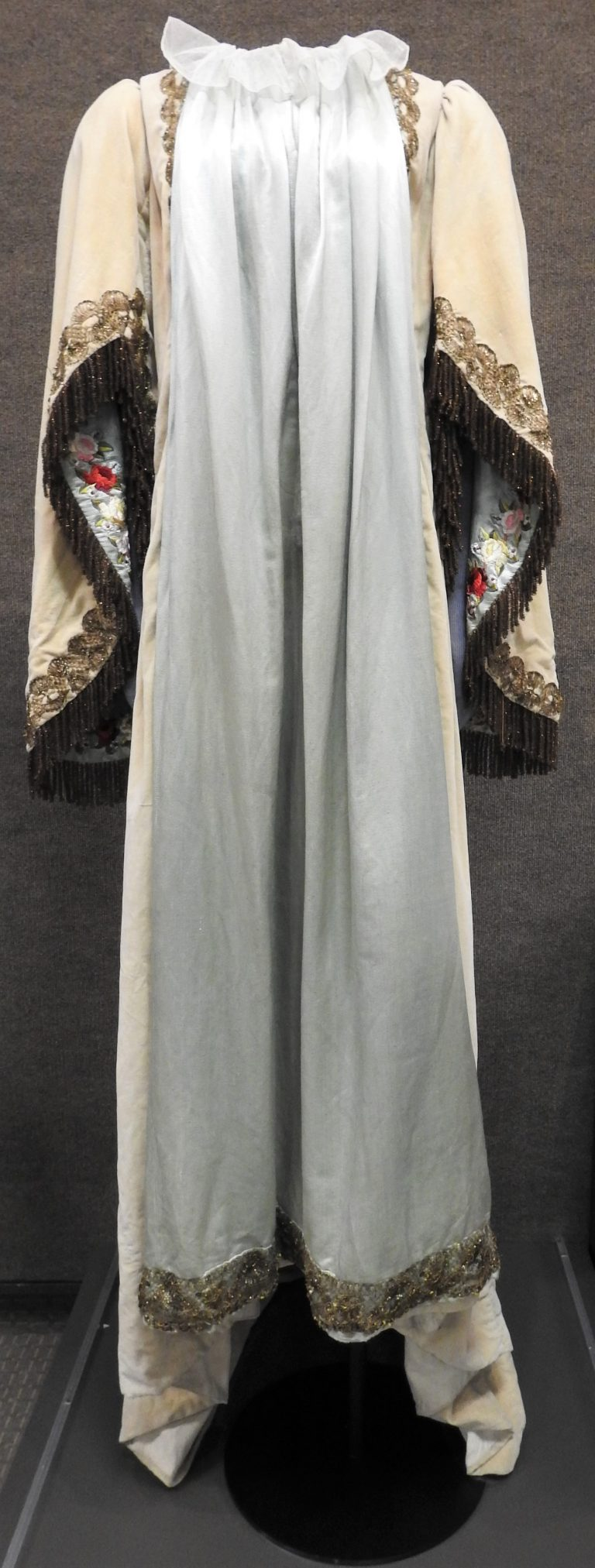 The Order of Pythian Sisters' Robe, ca. 1910. Generously Donated by Mrs. J.G. Weinzinger.