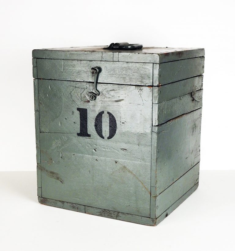 Ballot Box, ca. 1930. Transfer from the City of Colorado Springs Clerk's Office, 995.111.4.