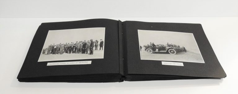 Sociability Tour Album, May 6-24, 1914. Generously Donated by Mr. T.C. Kirkwood. A56-186.