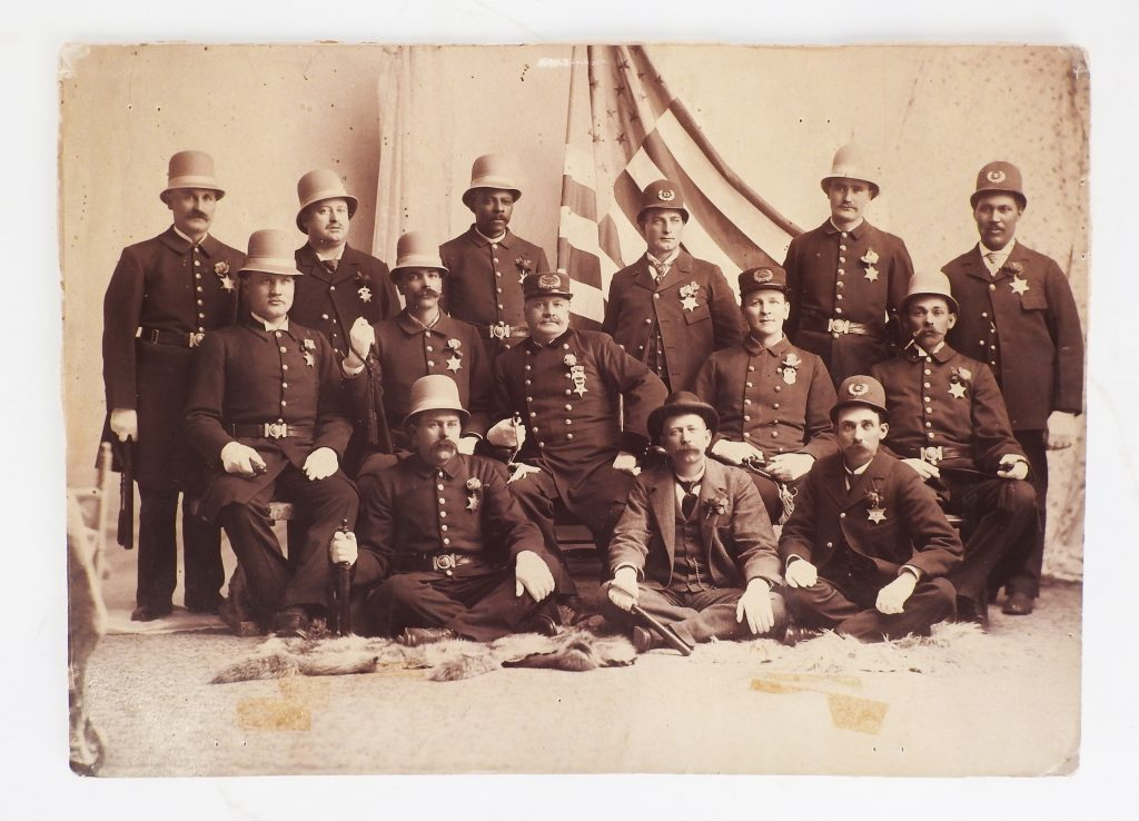 Colorado Springs Police Department Photograph, 1897. Generously Donated by Sherman McNew, A41-229.