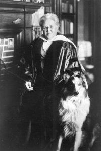 Katherine Lee Bates, ca. 1915. CSPM Collection.