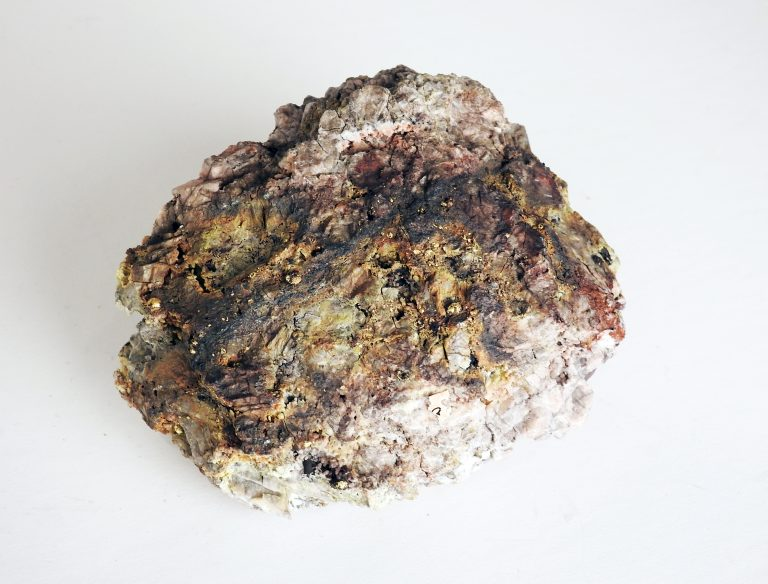 C.O.D. Gold Ore Specimen, ca. 1895. Generously loaned by Thayer Tutt