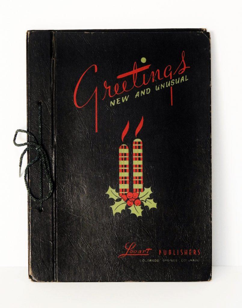 LooArt Holiday Card Catalog, ca. 1950. Generously Donated by Gary Loo, S2019.22