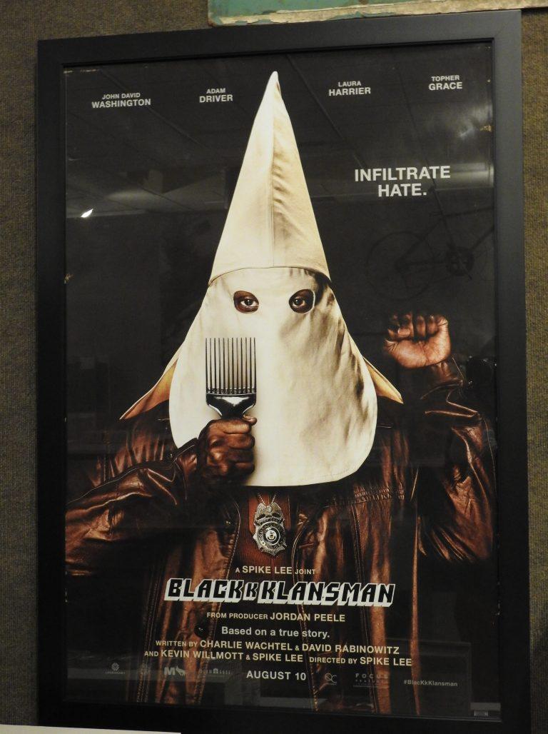 BlacKkKlansman Poster, 2018. CSPM Collection.