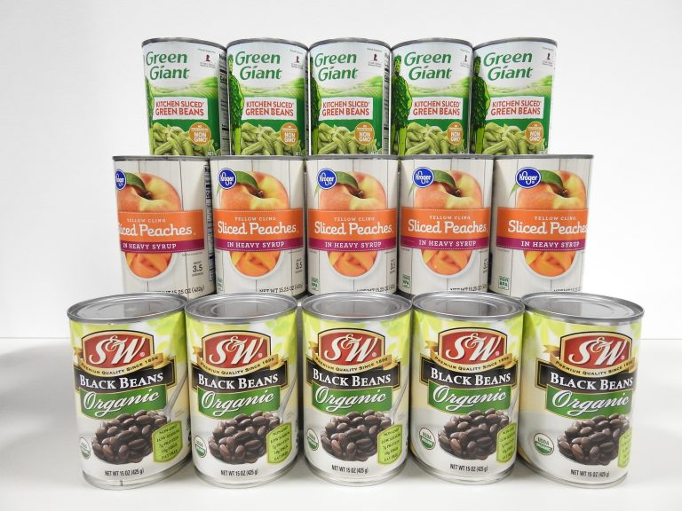Canned Fruit and Vegetables, CSPM Collection.