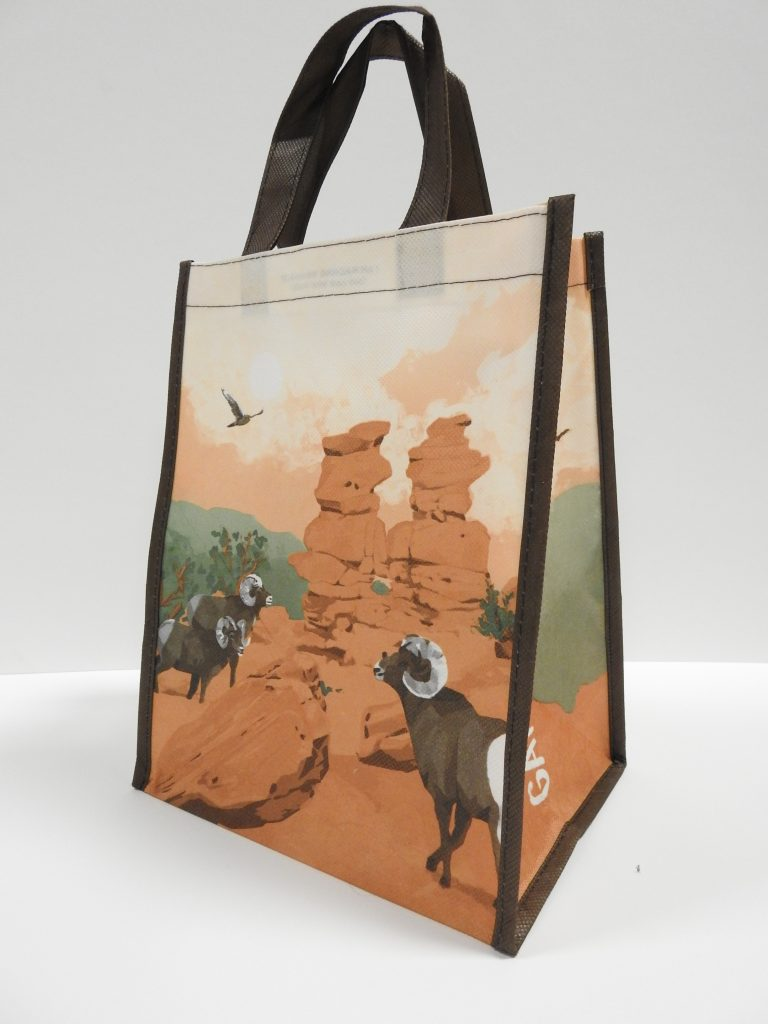 Garden of the Gods T-Shirt and Bag, 2020. CSPM Collecti