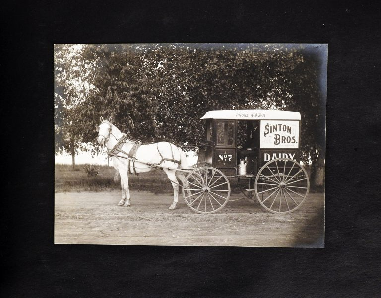 Sinton Dairy Photograph Album, 20th Century, Generously Donated by Sinton Dairy Foods, S2019.44.2.