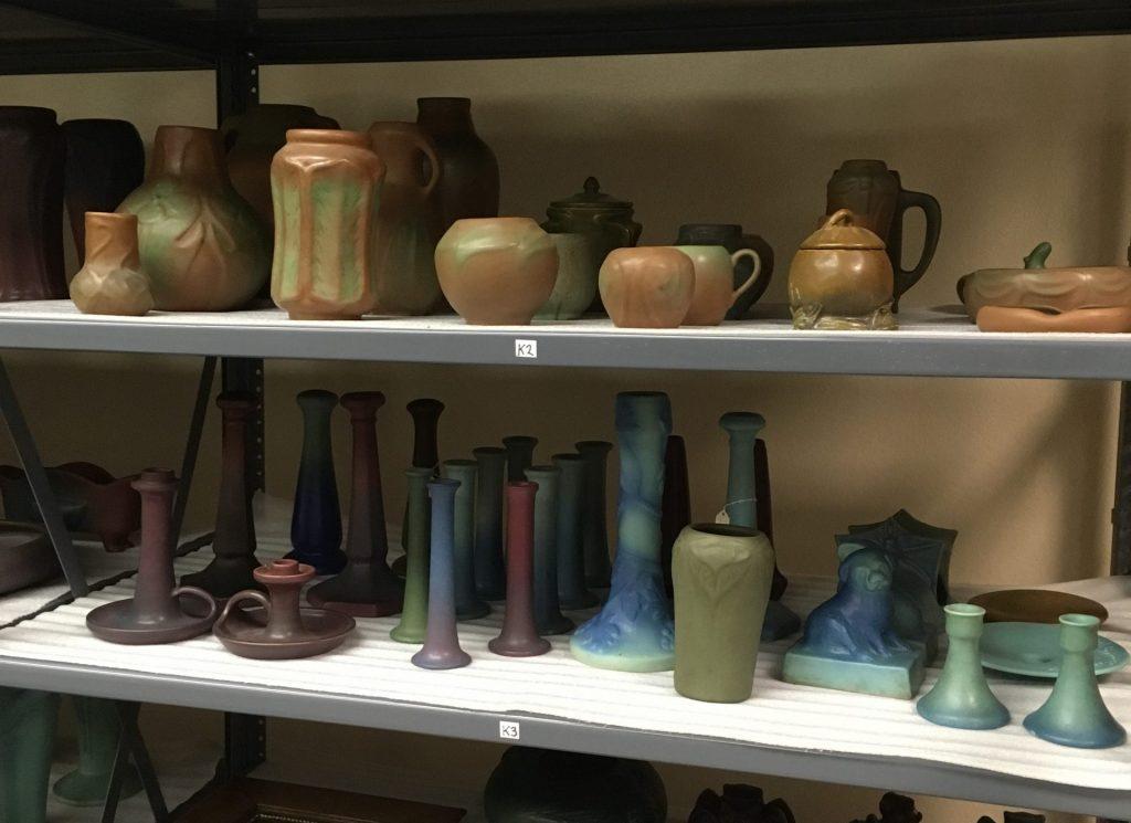 Van Briggle Pottery_on shelves2